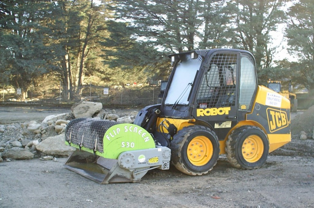 Excavator Hire Melbourne - Skid Steer Loader