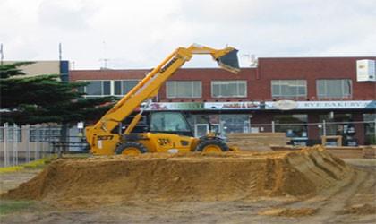 earthmoving equipment in melbourne