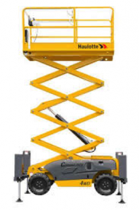 Extensive range of scissor lifts, boom lifts and telehandlers