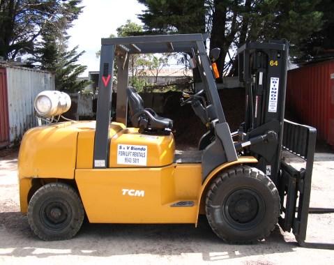 Diesel & LPG Forklifts Melbourne 5-0 ton