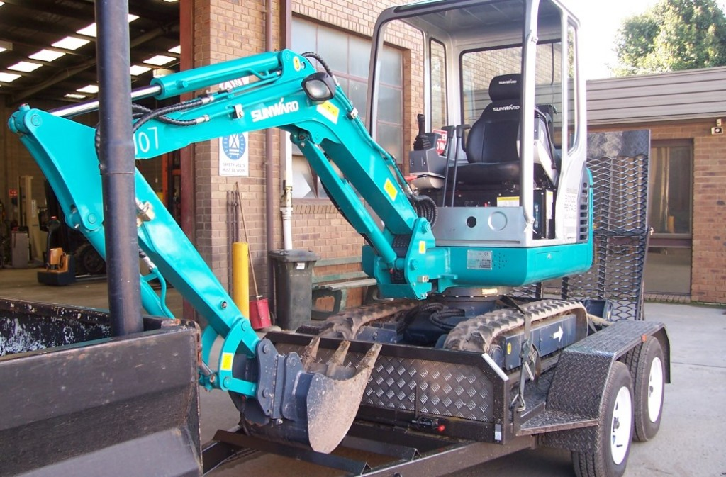 Excavator Hire in Melbourne
